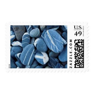 USA, Vermont, Lake Champlain, Stones Postage