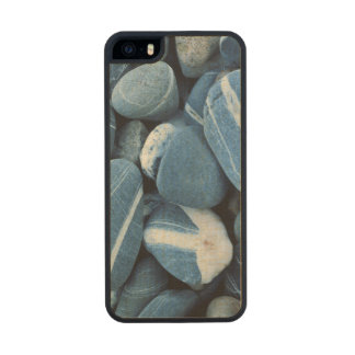 USA, Vermont, Lake Champlain, Stones Wood Phone Case For iPhone SE/5/5s