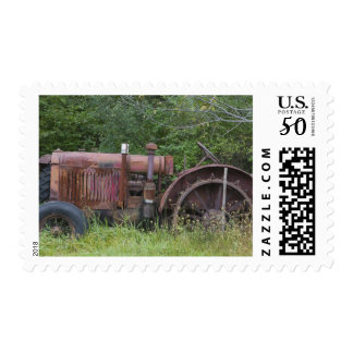 USA, Vermont, MANCHESTER: Antique Farm Tractor Postage