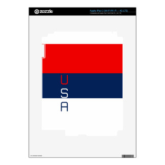 USA Vertical Striped iPad 3 Skins