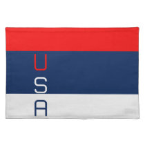 USA Vertical Striped Placemat