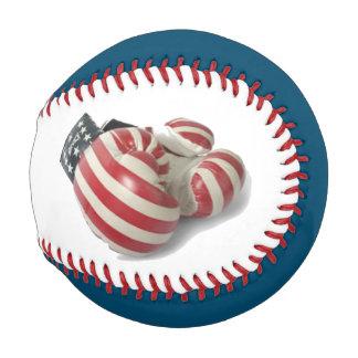 USA Veteran Boxing Gloves Personalized Baseball
