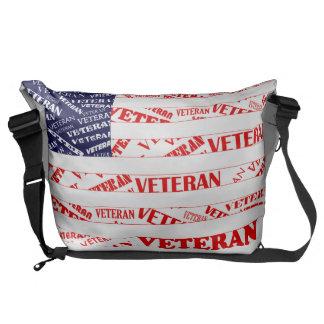 USA Veteran Messenger Bag