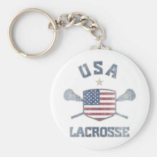 USA-Vintage Keychain