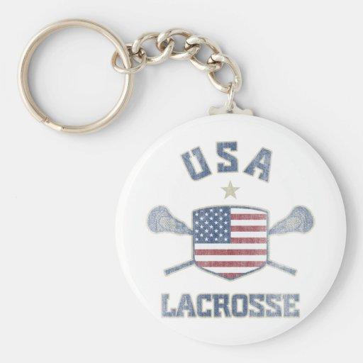 USA-Vintage Key Chains