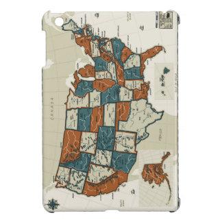 USA - Vintage Map iPad Mini Cover
