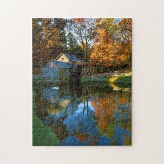 USA, Virginia, Blue Ridge Parkway, Mabry Mill Puzzle