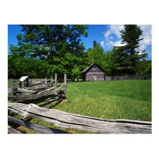 USA, Virginia, Blue Ridge Parkway, The Puckett 2 Postcard