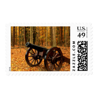 USA, Virginia, Colonial National Historical Stamp