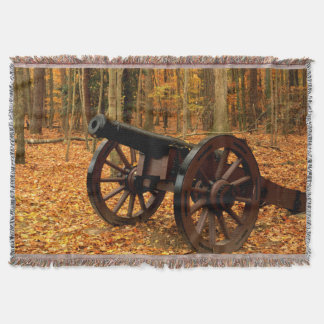 USA, Virginia, Colonial National Historical Throw Blanket