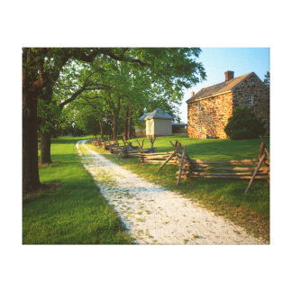 USA, Virginia, Fairfax County, Sully Plantation Canvas Print