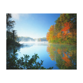 USA, Virginia, Fairy Stone State Park Stretched Canvas Prints