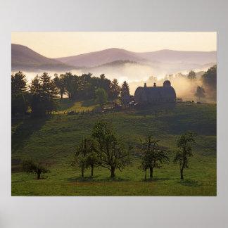 USA, Virginia, Giles County, Farm Poster