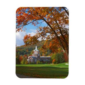 USA, Virginia, Hot Springs, The Homestead Rectangular Photo Magnet