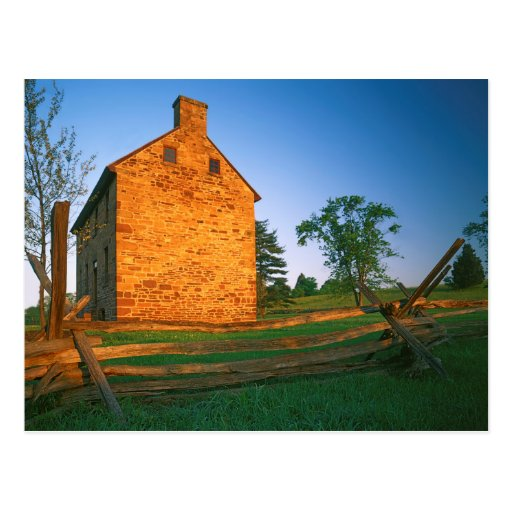 USA, Virginia, Manassas National Battlefield 2 Postcard