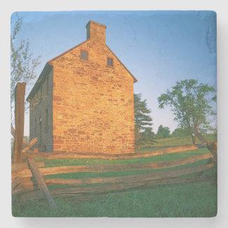 USA, Virginia, Manassas National Battlefield 2 Stone Coaster