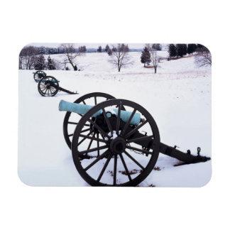 USA, Virginia, Manassas National Battlefield Magnet
