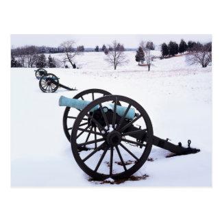USA, Virginia, Manassas National Battlefield Postcard