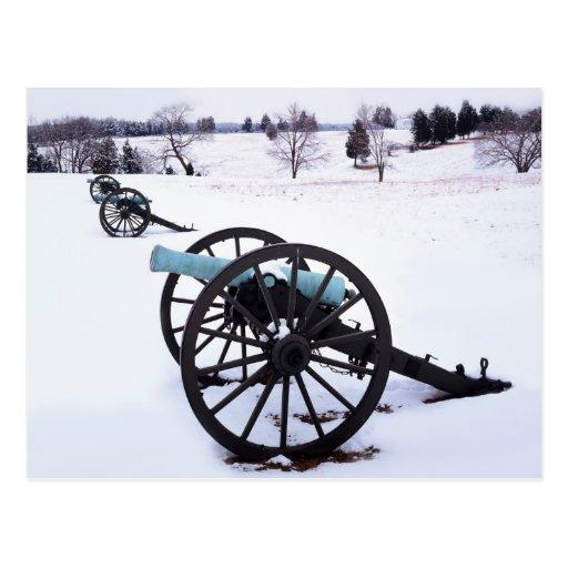 USA, Virginia, Manassas National Battlefield Postcards