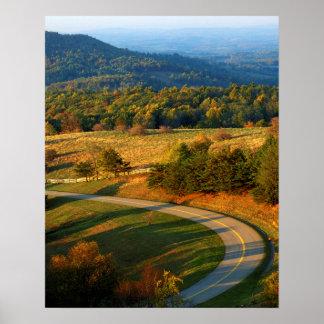 USA, Virginia, Patrick County, The Blue Ridge Posters