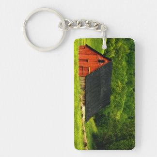 USA, Virginia, Shenandoah National Park, 2 Double-Sided Rectangular Acrylic Keychain