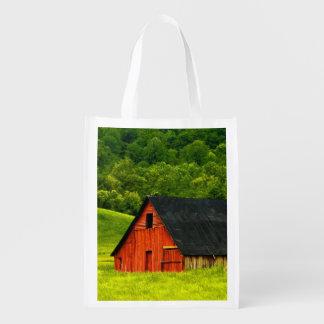USA, Virginia, Shenandoah National Park, 2 Reusable Grocery Bags