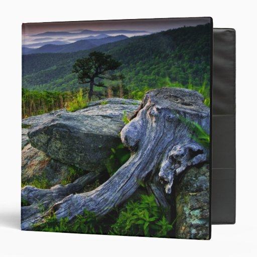 USA, Virginia, Shenandoah National Park. 3 Ring Binders