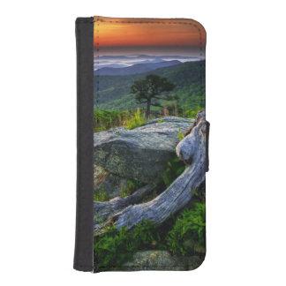 USA, Virginia, Shenandoah National Park. iPhone SE/5/5s Wallet Case