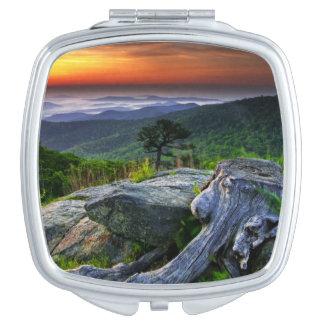 USA, Virginia, Shenandoah National Park. Compact Mirror