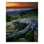 USA, Virginia, Shenandoah National Park. Poster