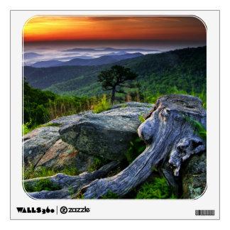 USA, Virginia, Shenandoah National Park. Wall Sticker