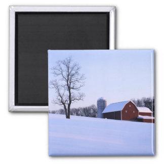 USA, Virginia, Shenandoah Valley, Barn Magnet