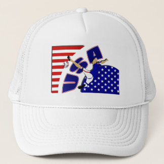 USA volley soccer lovers US soccer team gifts Trucker Hat