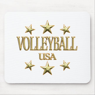 USA Volleyball Mouse Pad