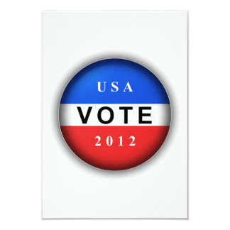 USA Vote 2012 Card