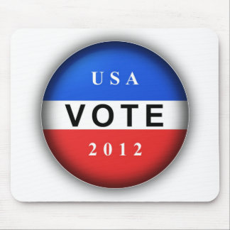 USA Vote 2012 Mouse Pad