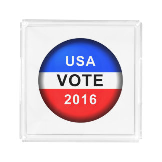 USA VOTE 2016 SERVING TRAY