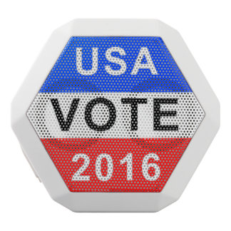 USA VOTE 2016 WHITE BLUETOOTH SPEAKER