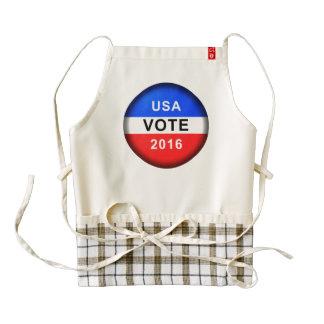 USA VOTE 2016 ZAZZLE HEART APRON