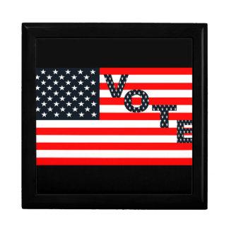 Usa Vote Jewelry Box
