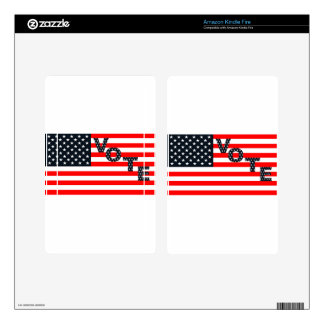 Usa Vote Skins For Kindle Fire