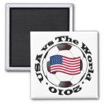USA vs The World 2010 Refrigerator Magnets