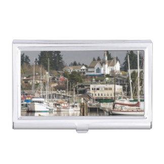 USA, Wa, Kitsap Peninsula. Scenic Town. Business Card Holder
