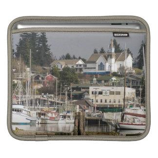 USA, Wa, Kitsap Peninsula. Scenic Town. iPad Sleeve