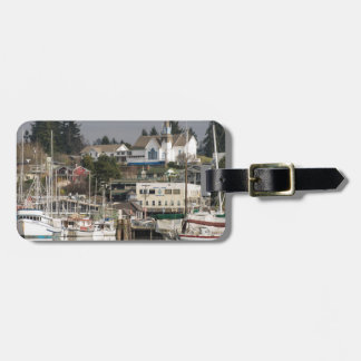 USA, Wa, Kitsap Peninsula. Scenic Town. Luggage Tag