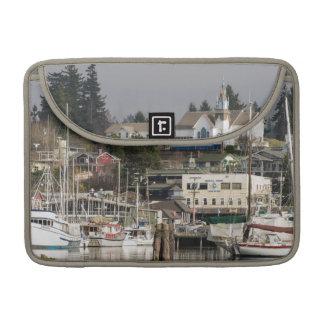 USA Wa Kitsap Peninsula Scenic Town Sleeves For MacBooks