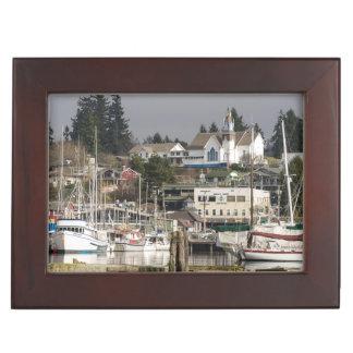 USA, Wa, Kitsap Peninsula. Scenic Town. Memory Box