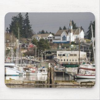 USA, Wa, Kitsap Peninsula. Scenic Town. Mouse Pad
