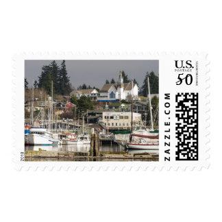 USA, Wa, Kitsap Peninsula. Scenic Town. Postage