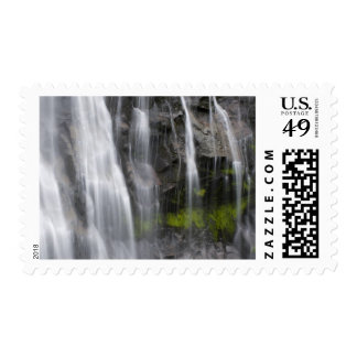 USA, WA, Mt. Rainier NP, Narada Falls Postage